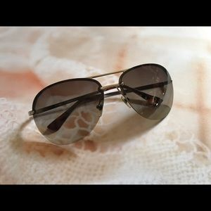Aviator Sunglass by Michael Kors